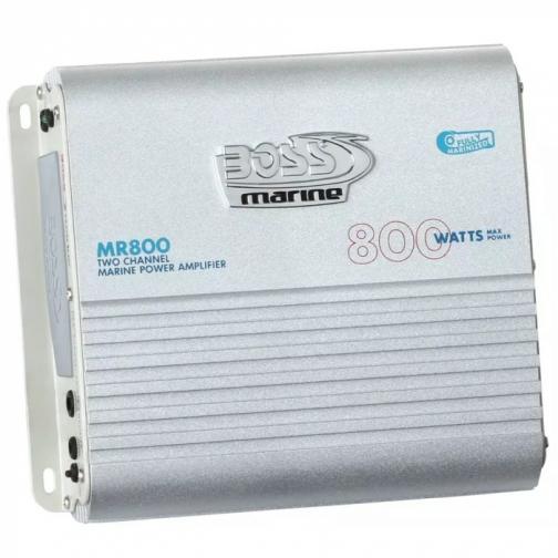 Усилитель 2-канальный Boss Marine 2x 400 Вт макс на 2 Ом (BAM-MR800 (СК/09493))-6821727