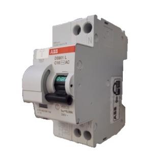 ABB Дифавтомат ABB DS201 C16 A10 2-полюсный характеристика C 16A 10mA тип А