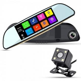 Видеорегистратор зеркало XPX ZX827 GPS Android WiFi с 2 камерами-37456289