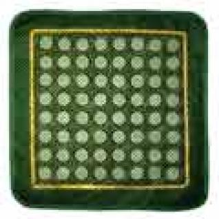 Коврик/подушка нефритовая с крупными дисками с сеткой 40х40-9056582
