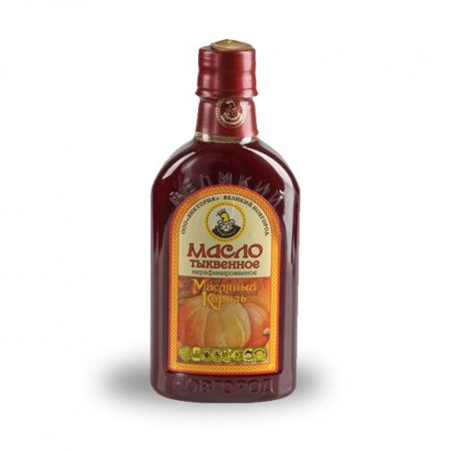 Масло тыквенное «Масляный король», 0.35 л, ПЭТ-822571