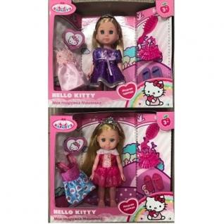 "Кукла ""Хелло Китти"" - Машенька с комплектом одежды, 15 см Карапуз-37734187"