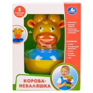 "Неваляшка-Корова ""Умка"" В Русс.-37795453"