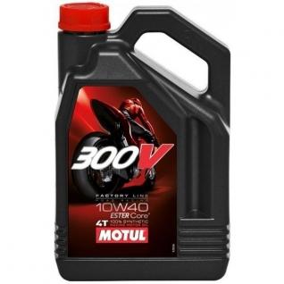 производитель не указан Моторное масло Motul 300V 4T FACTORY LINE 10W-40 4Л
