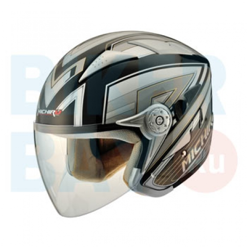 Шлем (открытый) MO 126 Stroke Gold (Размер M) MICHIRU-2154706
