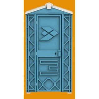 Мобильная туалетная кабина ЛЮКС ECOSTYLE-8987113
