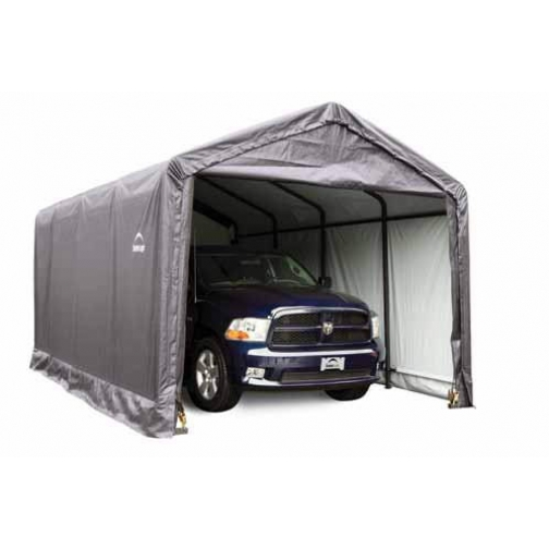 Гараж/Ангар в коробке Shelterlogic 3,7 x 7,6 х 3,4м ShelterLogic-6779898