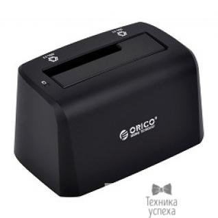 """Orico ORICO 8619US3-BK Док-станция для HDD ORICO 8619US3; 1-bay 3.5""""/2.5"""" HDD 4TB Max (черный)"""