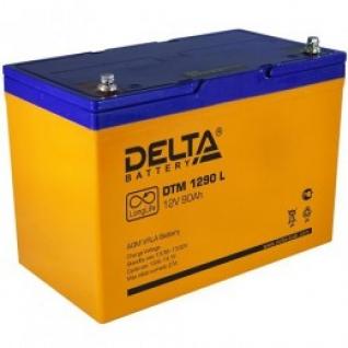 Аккумулятор для ИБП DELTA Delta DTM 1290 L А универсальная полярность 90 А/ч (306x169x210)-6036003