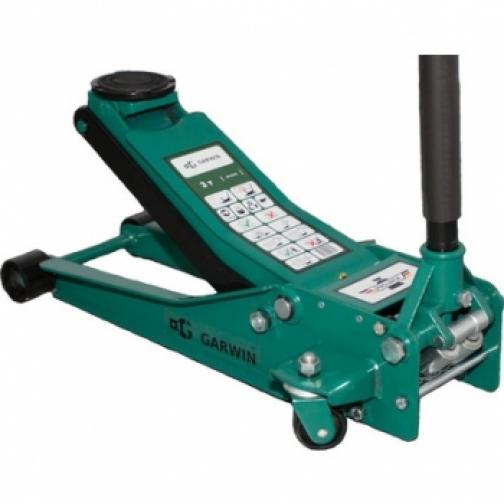 """Домкрат подкатной GARWIN низкого подхвата """"PROJACK"""" 3 т, 75-505 мм GE-PJL03-830931"""