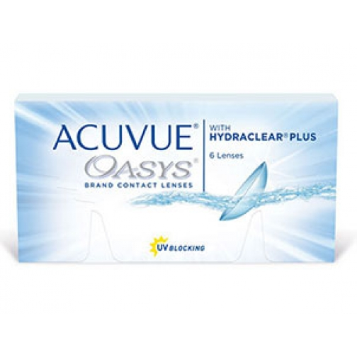 ACUVUE OASYS with HYDRACLEAR Plus. Оптич.сила -8,5. Радиус 8,8-4080342