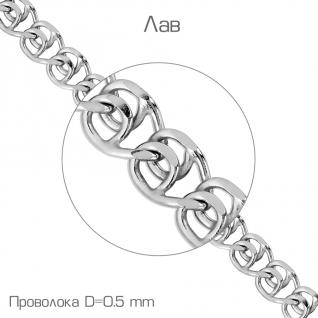 Цепь из серебра TEOSA T-Ц1ЛВ17РО052050