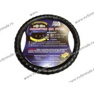 Оплетка на руль Azard 2108-10 черная-431373