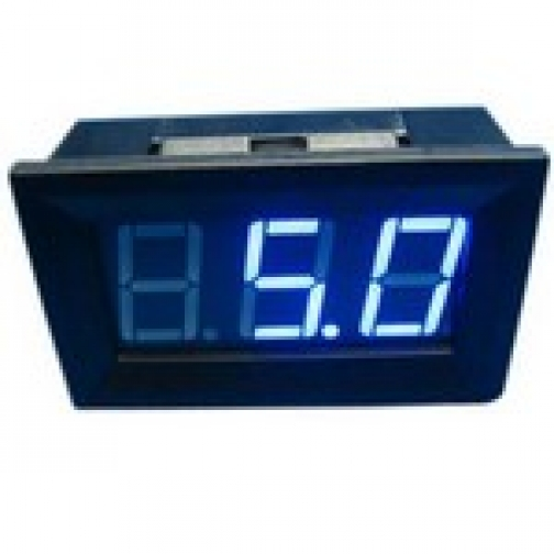 амперметр панель 0-10А синее свечение-863004