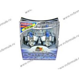 Лампа галоген 12V Н1 55W P14.5s ДИАЛУЧ Blue 2шт-415999