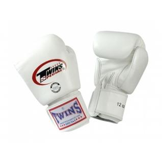 Twins Special Перчатки боксерские Twins BGVL-3, 16 унций, Белый