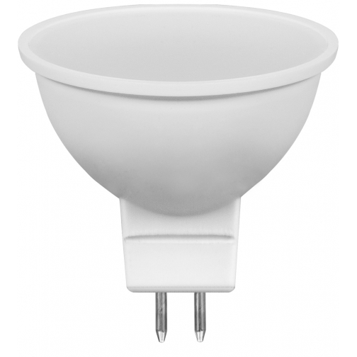 Светодиодная лампа Feron LB-26 (7W) 230V G5.3 2700K MR16 матовая-8164297