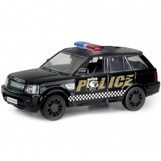 """Инерционная коллекционная машинка Land Rover Range Rover Sport """"Полиция"""", 1:32 RMZ City-37717920"""