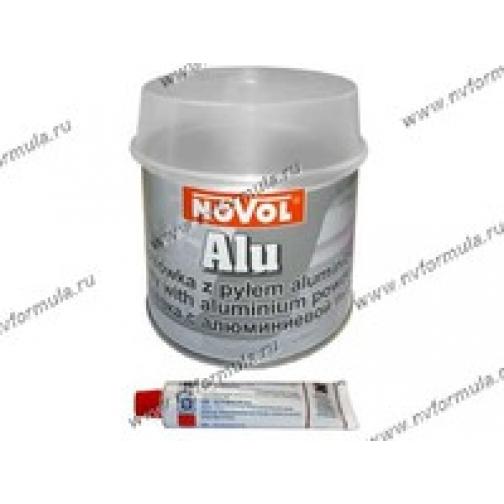 Шпатлевка NOVOL с алюминием 0,75 кг-418503