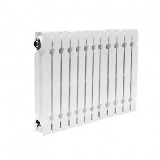 Чугунный секционный радиатор Konner Modern 500, 12 секций с монтажным комплектом-6761970