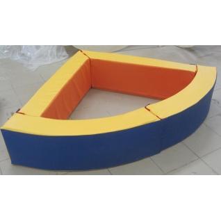 Сухой бассейн угловой 110х110х45см-5228060