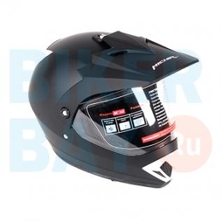 Шлем (кросс) MC 145 Black Mate (Размер XS) MICHIRU-2156136