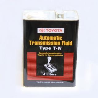 Трансмиссионное масло TOYOTA ATF Type T-IV 4л (чер) арт. 0888681015-5926851