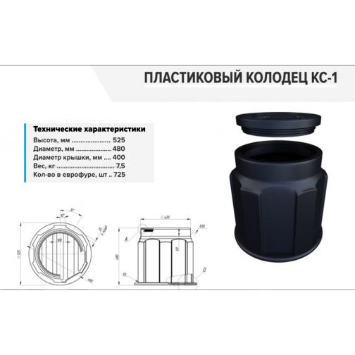 Кабельный колодец КС-1-6784019