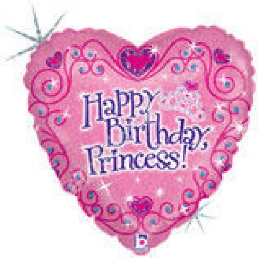 Принцесса С днём рождения Голография-873597