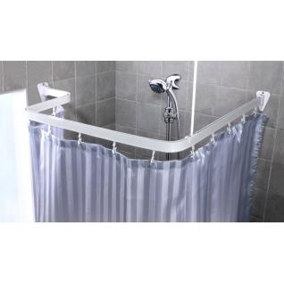 Карниз гибкий для ванной Duschy 688-10 белый