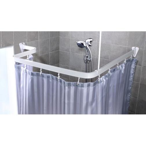 Карниз гибкий для ванной Duschy 688-10 белый-6765101