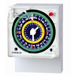 Реле времени суточное/суточное ORBIS CRONO QRDD-6453495