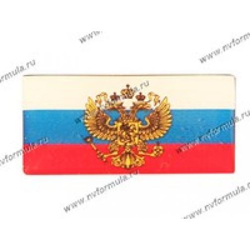 Эмблема Флаг России с гербом силикон-432461