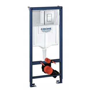 Система инсталляции для унитаза Grohe Rapid SL с панелью смыва Skate Cosmopolitan 3 режима 113 м 38772001-6757922