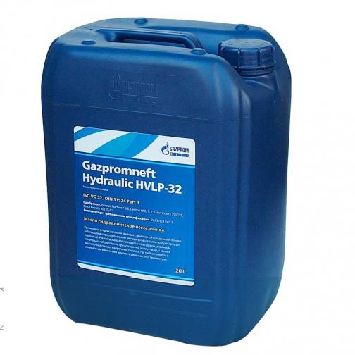 Гидравлическое масло Газпромнефть Hydraulic HVLP-32, 20л-5922490