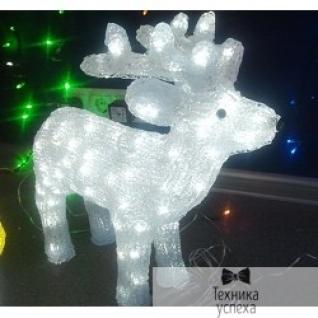 """Neon-night NEON-NIGHT (513-270) Акриловая фигура """"Северный олень 45 см"""" 100 белых светодиодов"""