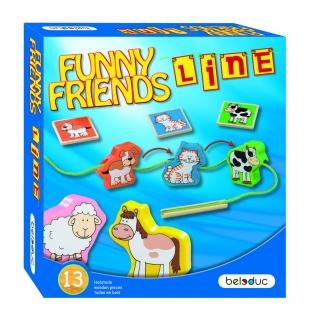 Развивающая игра Beleduc Веселые друзья