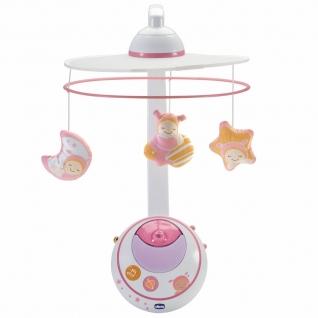 """Ночник-мобиль для кровати """"Волшебные звезды"""", розовый Chicco-37708284"""