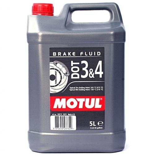 Тормозная жидкость MOTUL DOT 3&4 BF FL 5л.-5927091
