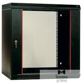 Цмо ЦМО! Шкаф телеком. настенный разборный 12U (600х650) дверь стекло,цвет черный (ШРН-Э-12.650-9005) (1коробка)-8987948