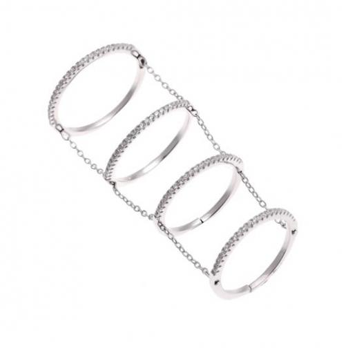 Кольцо из серебра с фианитом TEOSA MKRJ00079-R MKRJ00079-R TEOSA-8931658