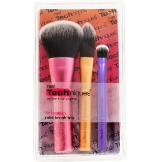 Профессиональные кисти для макияжа - Набор mini-кистей для макияжа Real Techniques Brush Trio-2147359
