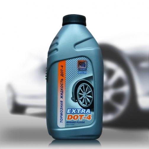 Тормозная жидкость Промпэк Дот4 EXTRA, 910г-5921481