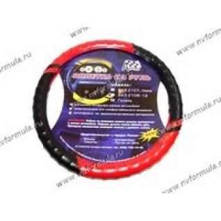 Оплетка на руль Azard 2101-07 красная-431377