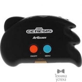 Sega SEGA Genesis Nano Trainer + 390 игр + SD карта + адаптер + кабель USB (черный)