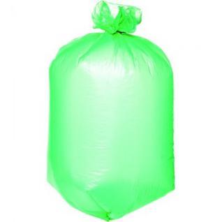 Мешки для мусора ПНД 120л 70x110см 20мкм зеленые 20шт/рул