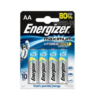 Energizer Батарейка AA - Energizer Maximum LR6/E91 1.5V