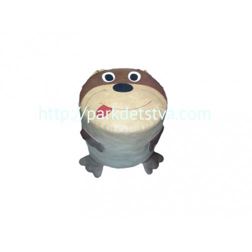Мягкая набивная мебель Пуфик Собачка-6830401