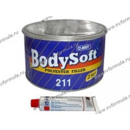 Шпатлевка BodySoft полиэстерная 2 кг-418495