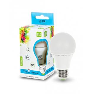 Лампа светодиодная LED-A60-standard 11Вт 160-260В Е27 4000К 990Лм ASD-1224730